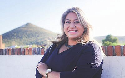 Alma Hernandez, a Mexican-American Jew and daughter of immigrants, is running for the Arizona House of Representatives and founded a progressive Jewish group in Tucson. (Courtesy of Hernandez)