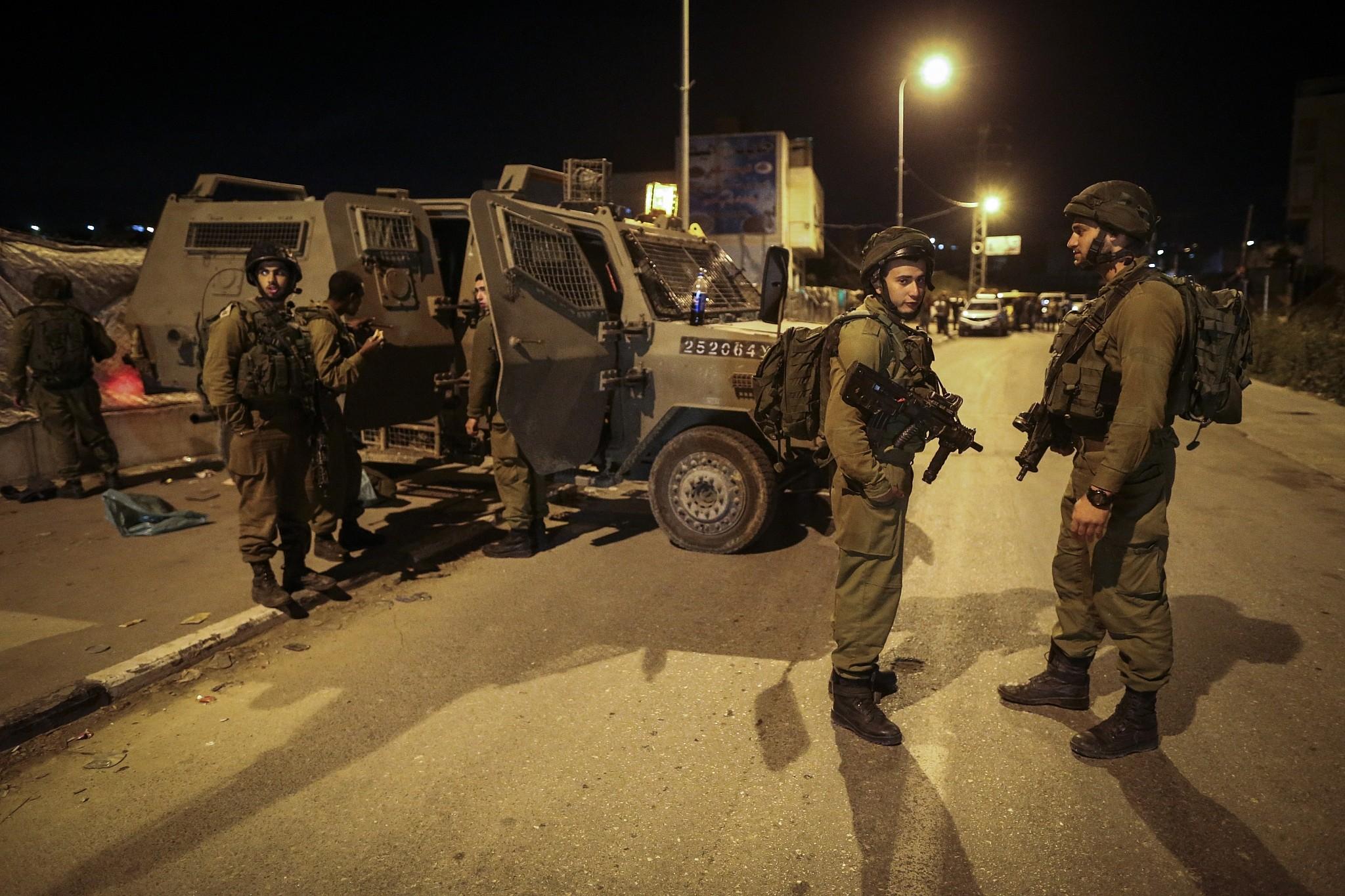 Shots fired toward West Bank settlement