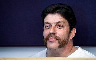 David Godovsky, former head of the Yisrael Beytenu headquarters, seen at the Tel Aviv District Court on March 19, 2018. (Flash90)