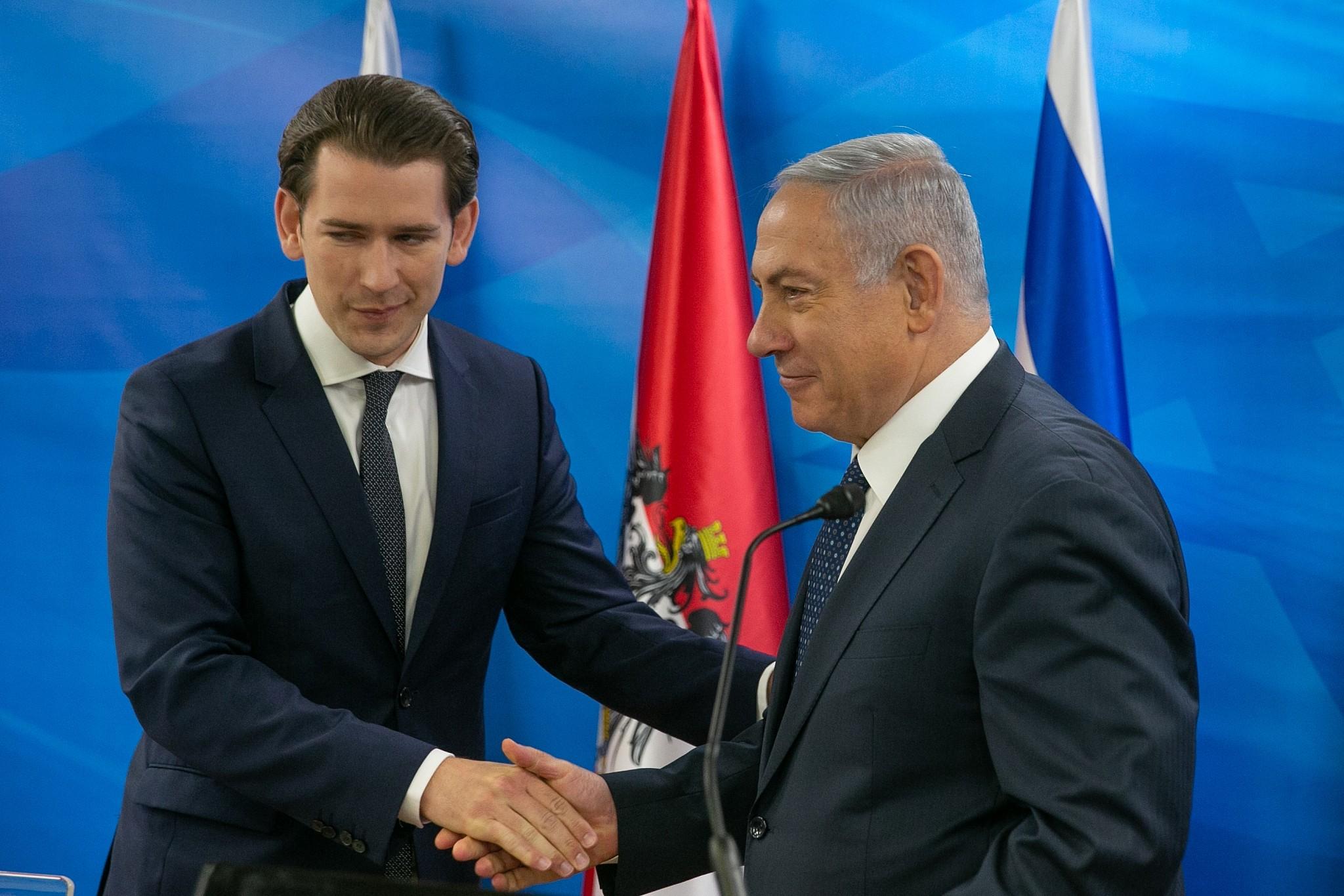 نتيجة بحث الصور عن austria israel