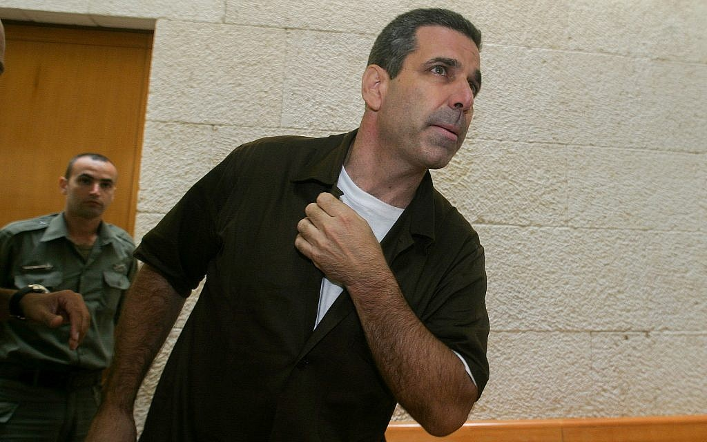 Former energy minister Gonen Segev seen at the Supreme Court in Jerusalem during an appeal hearing on August 18, 2006. (Flash90)
