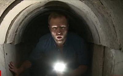 CNN's Ian Lee tours a Palestinian Islamic Jihad tunnel under the Gaza Strip. (YouTube)
