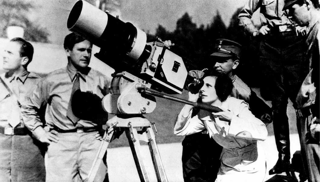Leni Riefenstahl directs 'Olympia,' based on the 1936 Olympic Games in Berlin, Germany (public domain)