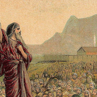 Moses would get cut out of the AP World History curriculum if the College Board follows through on a proposed change. (Providence Lithograph Company/Flickr)