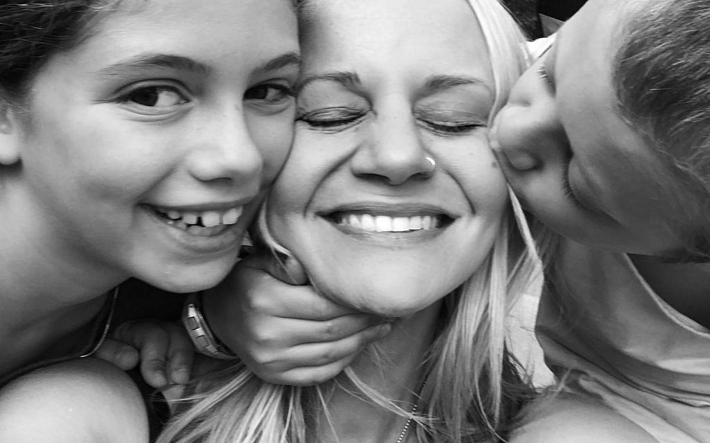 Sarah Tuttle-Singer and her kids. (Courtesy)