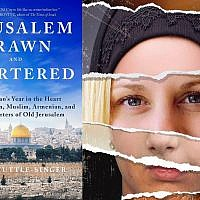 Sarah Tuttle-Singer, 'Jerusalem Drawn and Quartered.' (Courtesy)