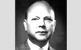 The official portrait of American diplomat James Rives Childs, who helped save 1,200 Jews during the Holocaust.