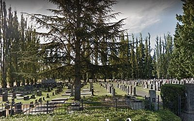 Bikur Cholim cemetery in Seattle. (Google maps)