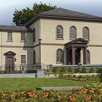 Ownership of the Touro Synagogue in Rhode Island is going to be decided in the Supreme Court. (Courtesy of Touro Synagogue via JTA)