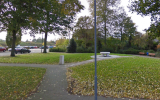 A Jewish monument to Dutch Jews who perished in the Holocaust in Hoogezand, Netherlands. (Screen capture/Google Street View)