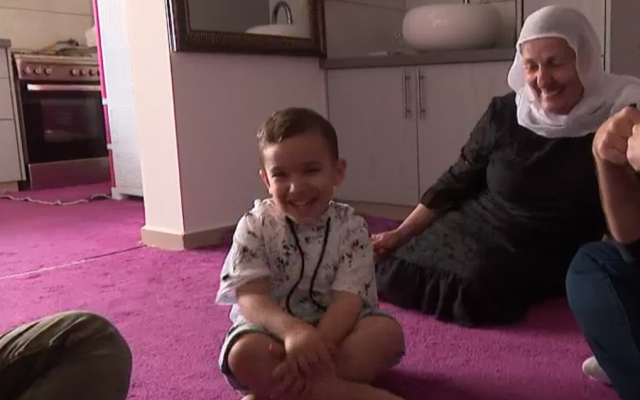 Druze toddler amazes experts by speaking English without