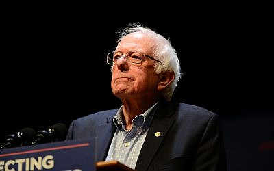 Sen. Bernie Sanders speaks at a MoveOn.org rally in Reading, Pennsylvania, Dec. 3, 2017. (Lisa Lake/Getty Images for MoveOn.org)