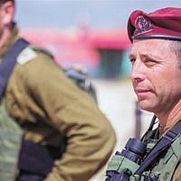 Col. Avi Bluth, chief of the elite commando brigade. (IDF spokesman's office)