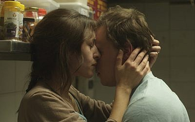 Tim Kalkhof and Sarah Adler in a scene from 'The Cakemaker.' (Strand Releasing/via JTA)