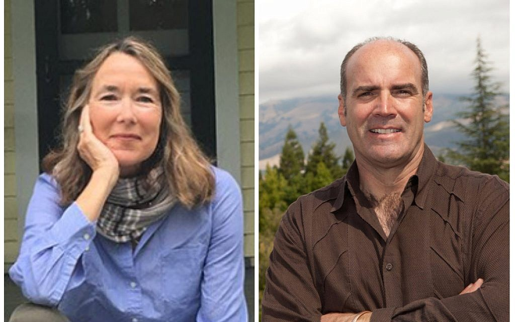Leslie Cockburn, left, and John Fitzgerald have spurred controversy with their congressional bids. (Campaign websites)