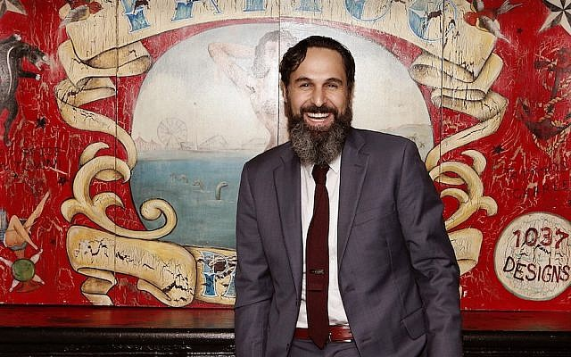 Rabbi Dan Ain is taking a synagogue pulpit in San Francisco after a decade of creating Jewish programming outside of a synagogue space in New York City. (Courtesy of Ain/via JTA)