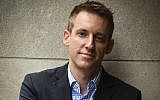 Jason Kander, shown in July 2017, is one of the rising stars of the Democratic Party. (Toni L. Sandys/The Washington Post via Getty Images via JTA)