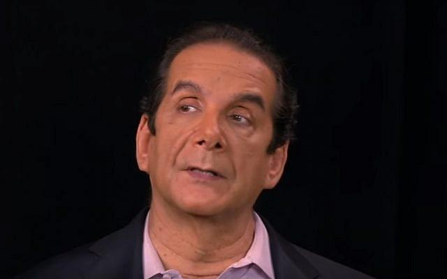 Charles Krauthammer (YouTube screenshot)