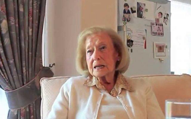 Gena Turgel (YouTube screen cap)