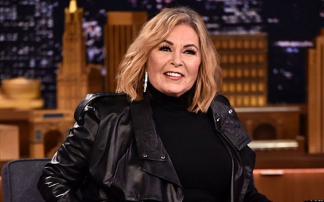 Roseanne Barr at 'The Tonight Show Starring Jimmy Fallon' in New York, April 30, 2018. (Theo Wargo/Getty Images for NBC)