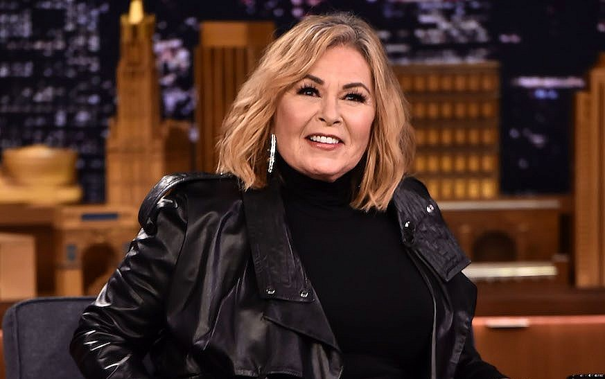 Roseanne Barr At The Tonight Show Starring Jimmy Fallon In New York April