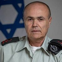 Maj. Gen. Kamil Abu Rokon, Coordinator of Government Activities in the Territories (Courtesy)