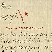 A letter written by Albert and Elsa Einstein to his sister Maja Winteler-Einstein on March 28, 1933. (Nate D. Sanders Auctions)