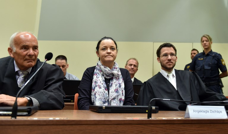 Neo-Nazi Beate Zschaepe Gets Life in Prison in Germany for 10 Murders