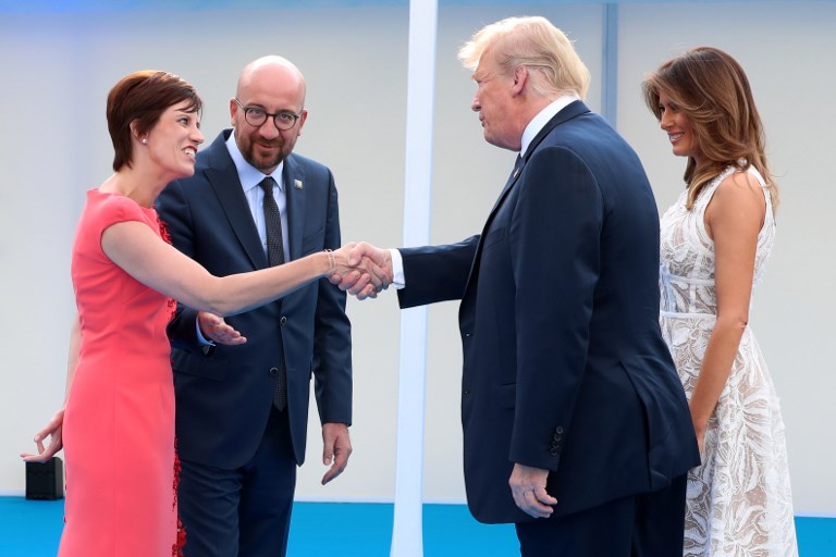 The NATO Summit got real messy after some Donald Trump shenanigans