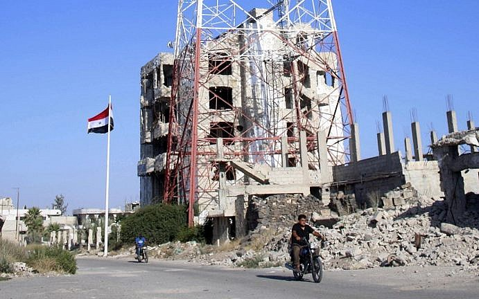 Syrian government reaches deal with rebels in Nawa