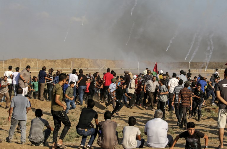 Israeli soldier and four Palestinians killed in Gaza Strip clashes