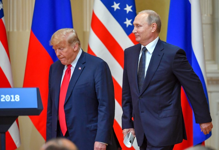 Trump embraces longtime United States foe Putin, doubting own intel