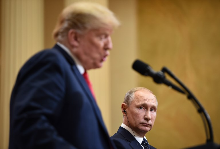 Trump sides with Russian Federation  against Federal Bureau of Investigation  at Helsinki summit