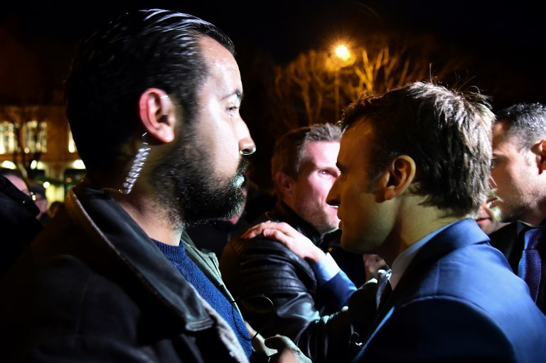 Macron aide who struck protester to be fired