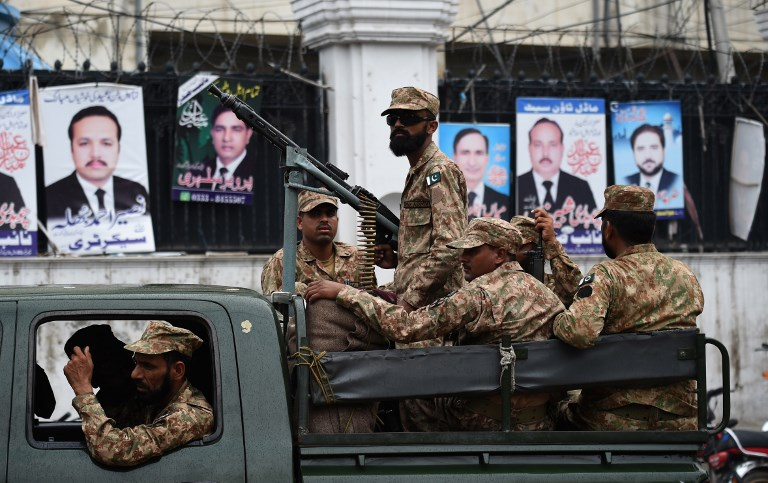Largest military deployment for Pakistan polls on Tuesday