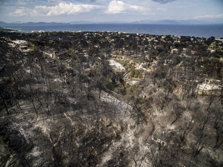 Greece wildfires: 74 dead in 'unspeakable tragedy'