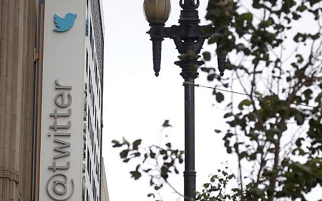 This  photo taken on July 26, 2018, shows the exterior of Twitter headquarters in San Francisco, California. Twitter shares took a pounding Friday as a warning of a shrinking user base overshadowed news of a third straight quarterly profit. ( AFP PHOTO / GETTY IMAGES NORTH AMERICA / JUSTIN SULLIVAN)