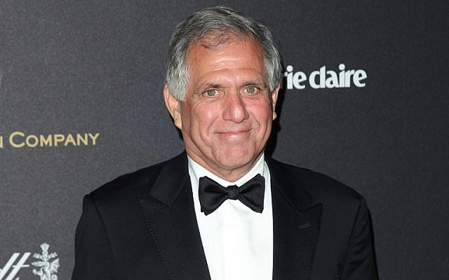 In this file photo taken on January 11, 2016 Leslie Moonves attends the TWC/NETFLIX Golden Globe after-party in Beverly Hills, California. (AFP Photo/Chris Farina)