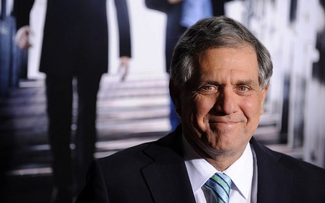 "In this photo from January 19, 2010, Leslie Moonves of CBS arrives for the premiere of CBS Films' ""Extraordinary Measures"" at Grauman's Chinese Theatre in the Hollywood section of Los Angeles, on January 19, 2010. (AFP/Robyn Beck)"