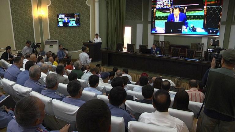Isis releases footage of Tajik 'killers'