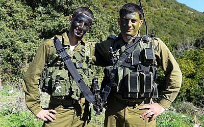 IDF officer Amir Jamal (L), a member of Israel's Druze minority community. (Israel Defense Forces/Flickr/CC BY-NC 2.0)