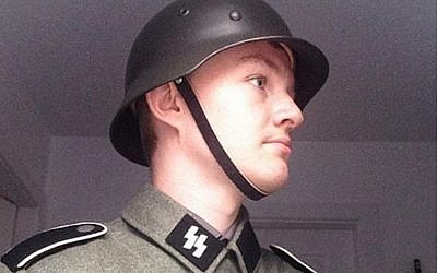 UK neo-Nazi Jack Coulson. (Instagram)