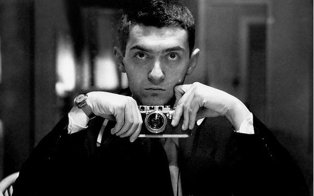 An employee photo of Stanley Kubrick when he worked for Look magazine. (Public domain)