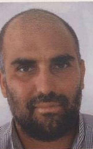 Firas al-Omari, an Arab Israeli man convicted of planning a terror attack against IDF soldiers. (Shin Bet)