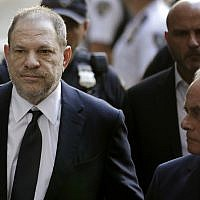 In this file photo from June 5, 2018, Harvey Weinstein arrives to court in New York. (AP Photo/Seth Wenig, File)