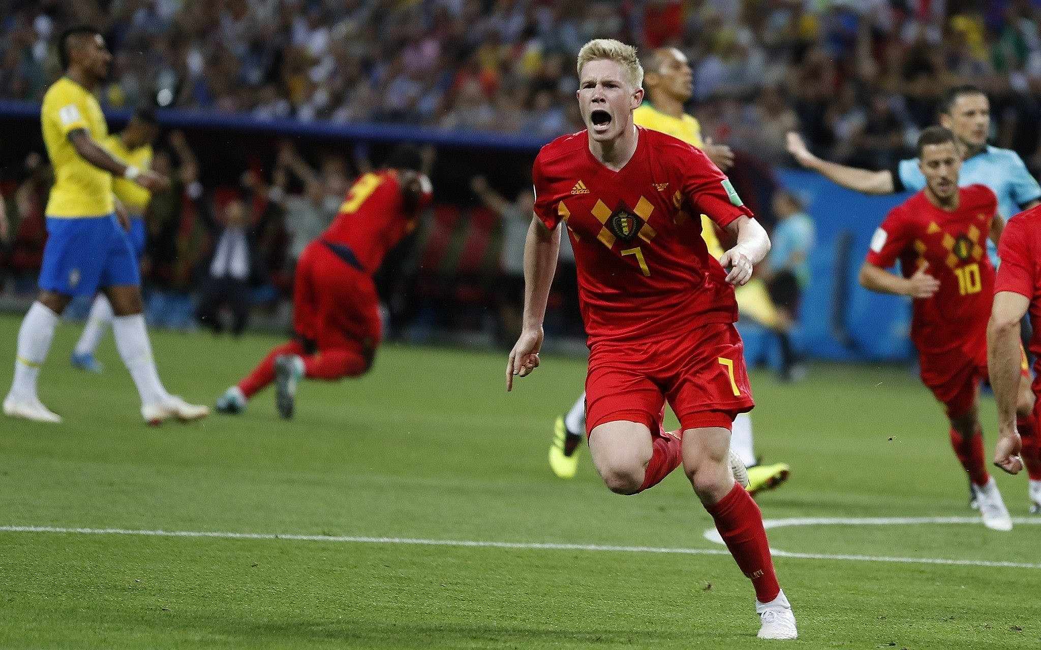 Belgium knocks soccer powerhouse Brazil out of World Cup  34082dd1a