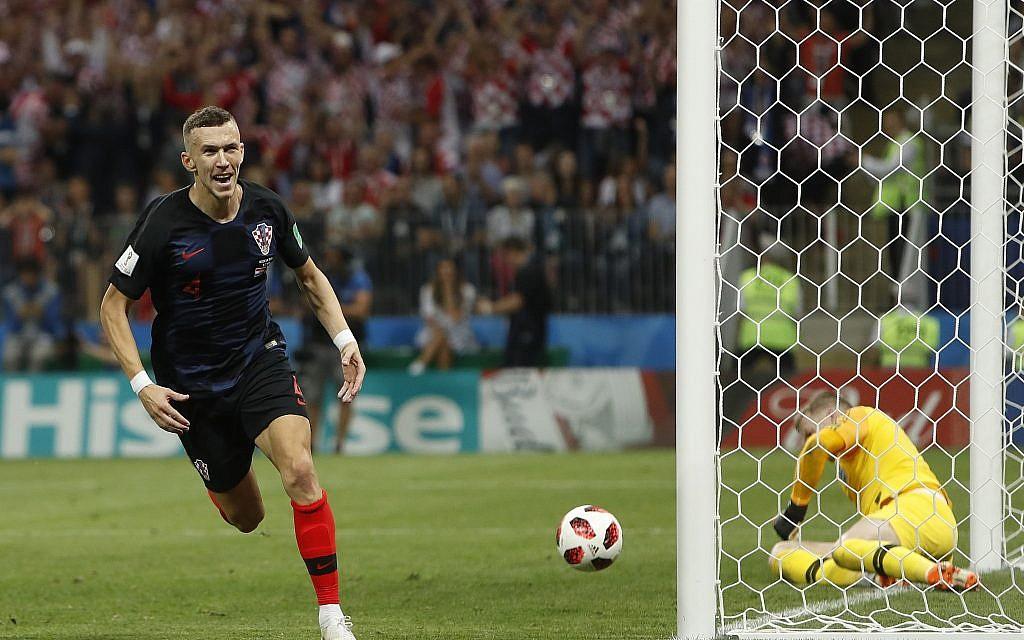 b19dddc5d Mandzukic breaks England hearts and fires Croatia into World Cup final    The Times of Israel