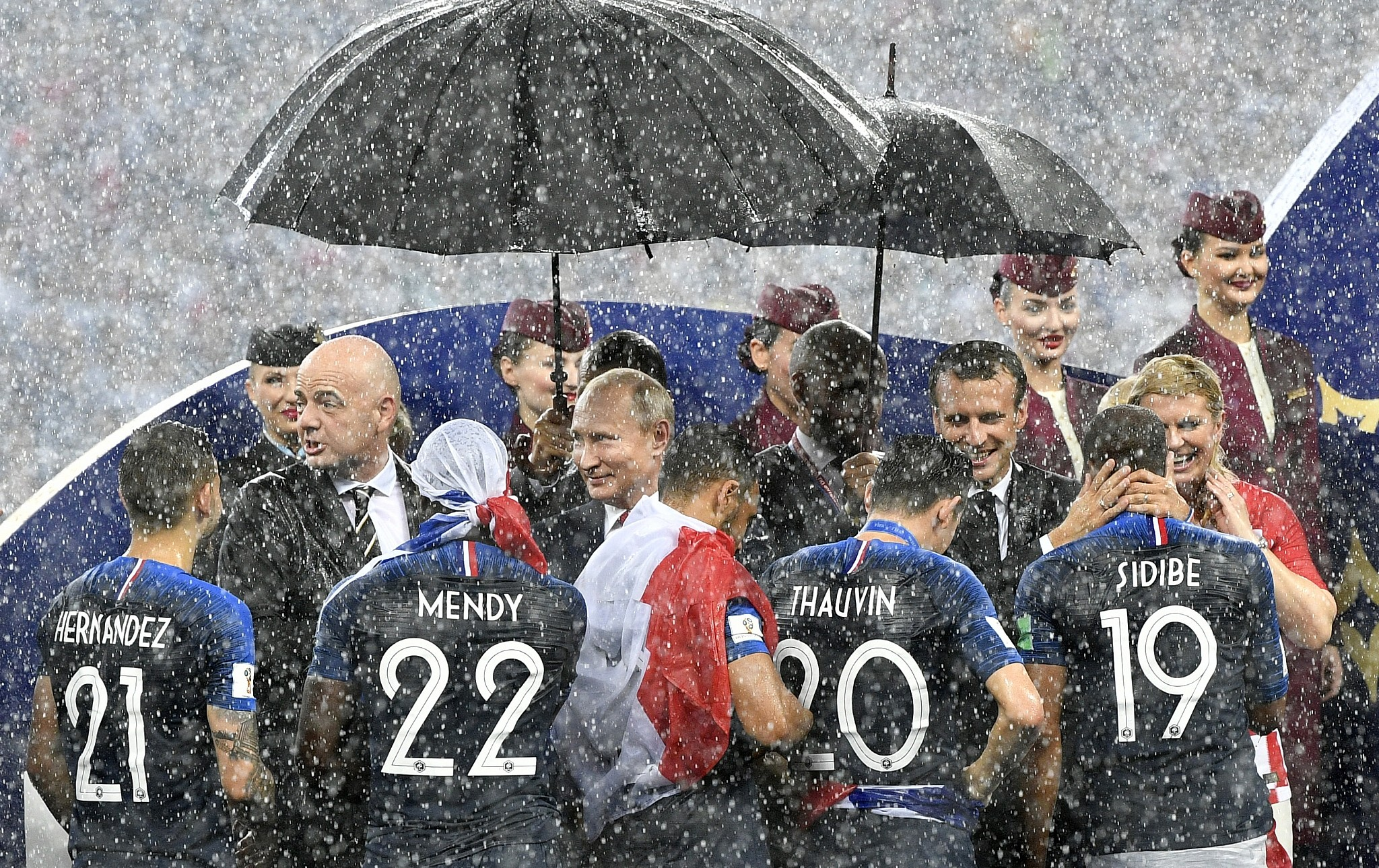 236be4f16 France wins World Cup with 4-2 victory over Croatia