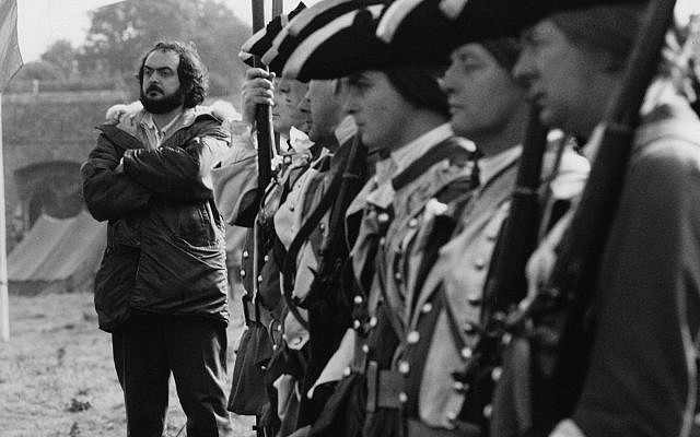 Film director Stanley Kubrick is seen on the set in the 1975 during production of the film 'Barry Lyndon.' (AP Photo)