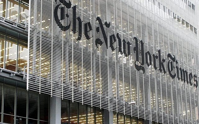 FILE - This Oct. 10, 2012, file photo shows the New York Times building in New York. (AP Photo/Richard Drew, File)